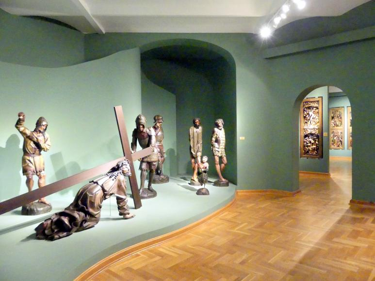 Breslau, Nationalmuseum, 1. OG, schlesische Kunst 14.-16. Jhd., Saal 8