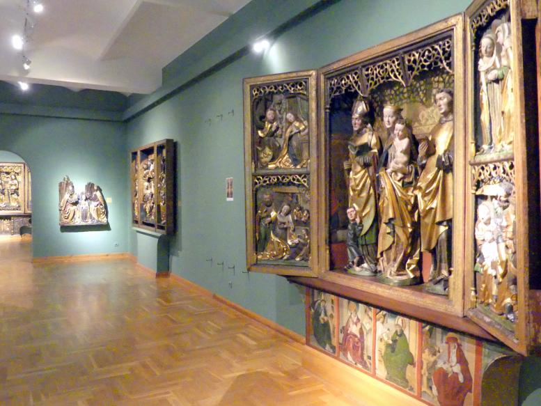 Breslau, Nationalmuseum, 1. OG, schlesische Kunst 14.-16. Jhd., Saal 9