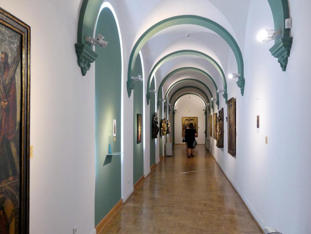 Breslau, Nationalmuseum, 1. OG, schlesische Kunst 14.-16. Jhd., Flur