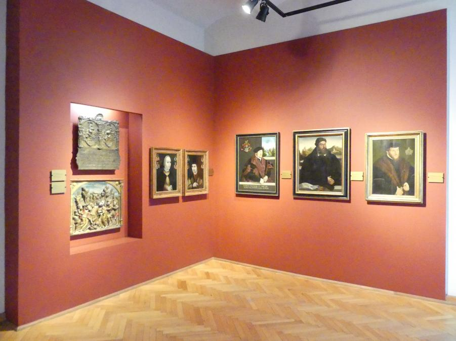 Breslau, Nationalmuseum, 1. OG, schlesische Kunst 16.-19. Jhd., Saal 1