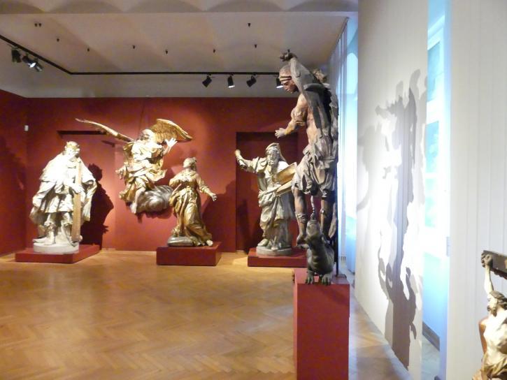 Breslau, Nationalmuseum, 1. OG, schlesische Kunst 16.-19. Jhd., Saal 8, Bild 3/4