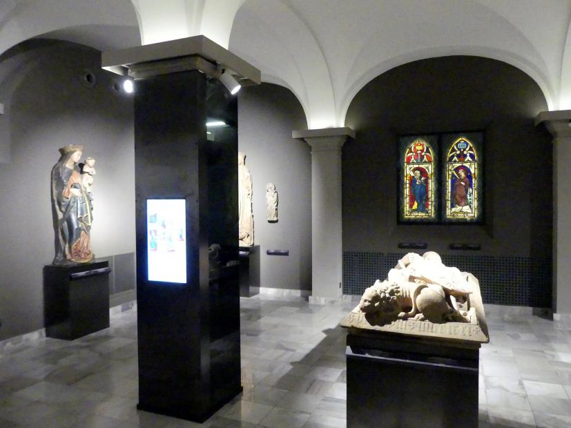 Breslau, Nationalmuseum, 1. OG, schlesische Steinskulptur 12.-16. Jhd.,