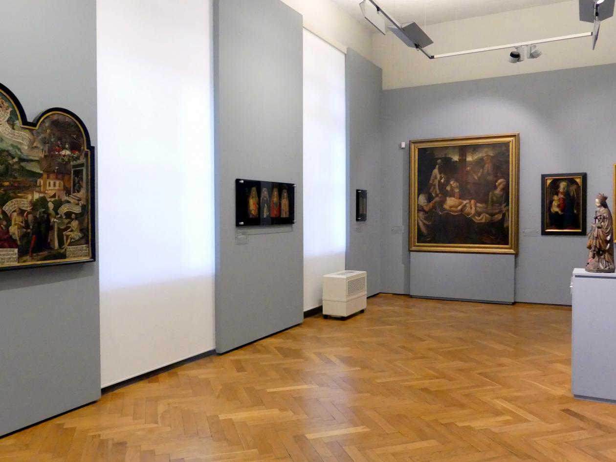 Breslau, Nationalmuseum, 2. OG, europäische Kunst 15.-20. Jhd., Saal 1