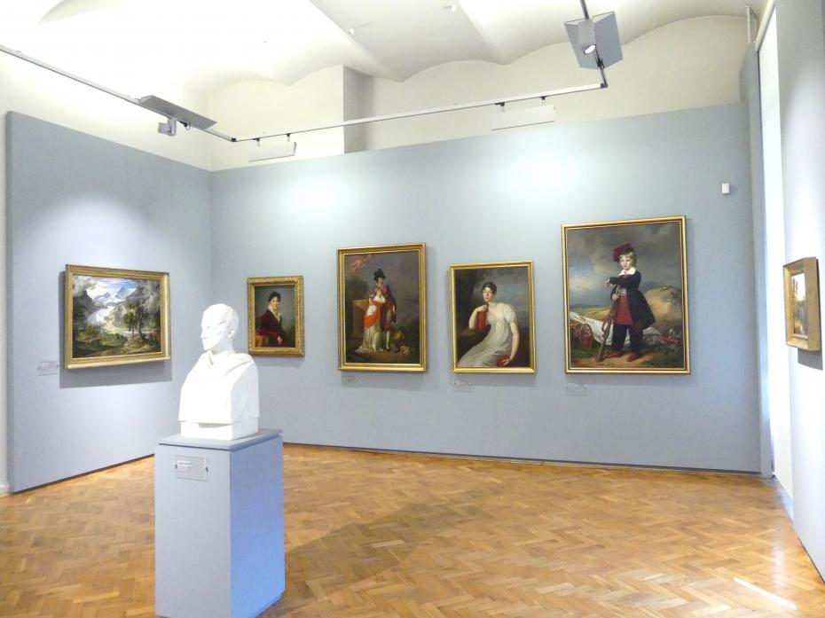 Breslau, Nationalmuseum, 2. OG, europäische Kunst 15.-20. Jhd., Saal 13, Bild 1/2