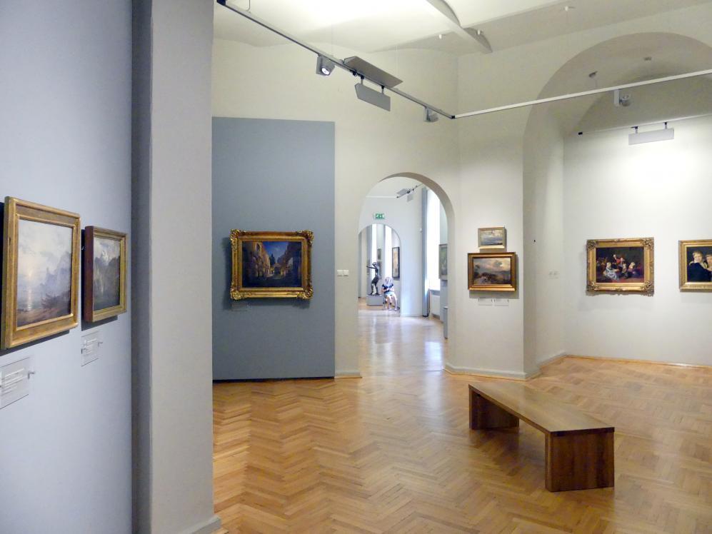 Breslau, Nationalmuseum, 2. OG, europäische Kunst 15.-20. Jhd., Saal 14, Bild 1/2