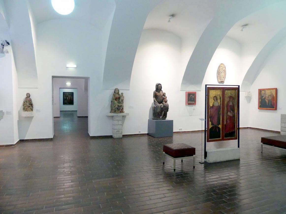 Linz, Oberösterreichisches Landesmuseum, Von der Romanik zur Spätgotik