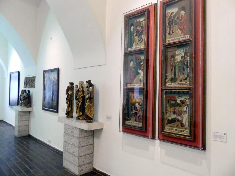Linz, Oberösterreichisches Landesmuseum, Kunst und Glaube im Spätmittelalter, Bild 4/5