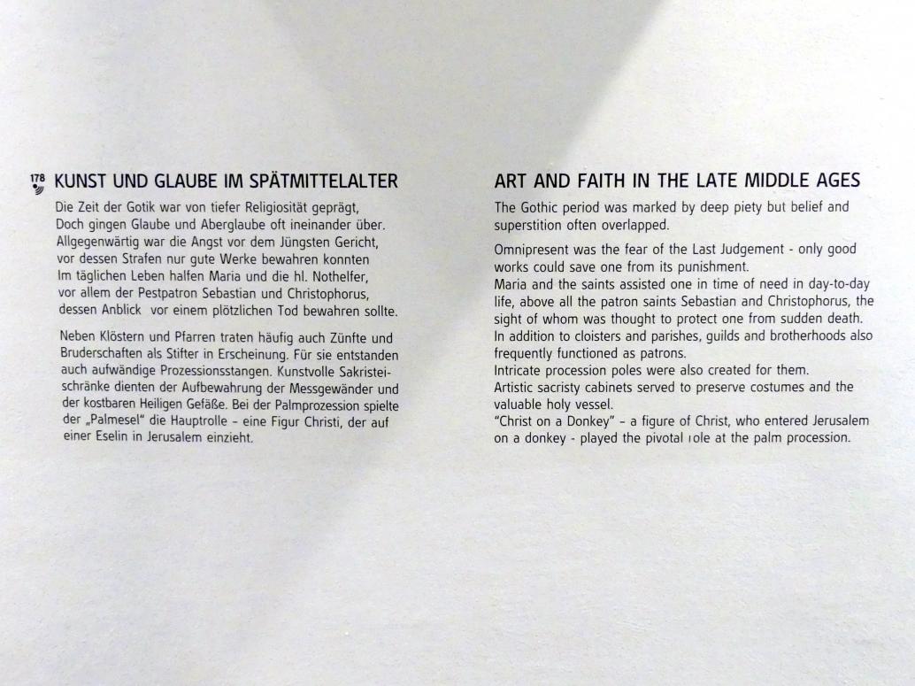Linz, Oberösterreichisches Landesmuseum, Kunst und Glaube im Spätmittelalter, Bild 5/5