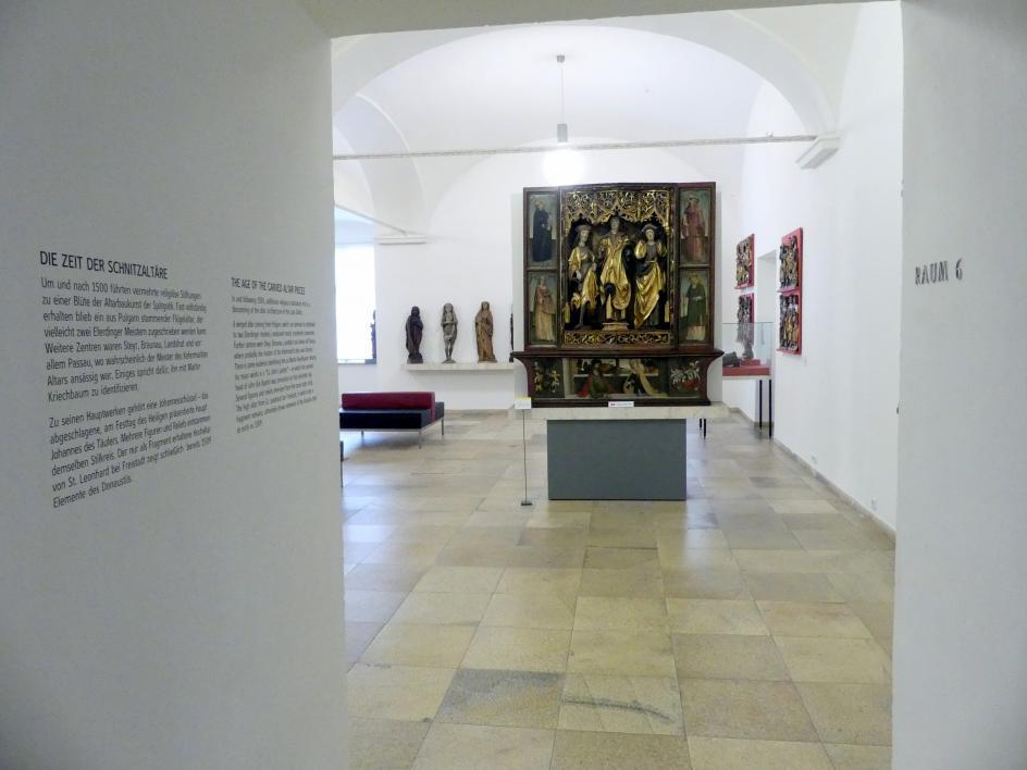 Linz, Oberösterreichisches Landesmuseum, Die Zeit der Schnitzaltäre