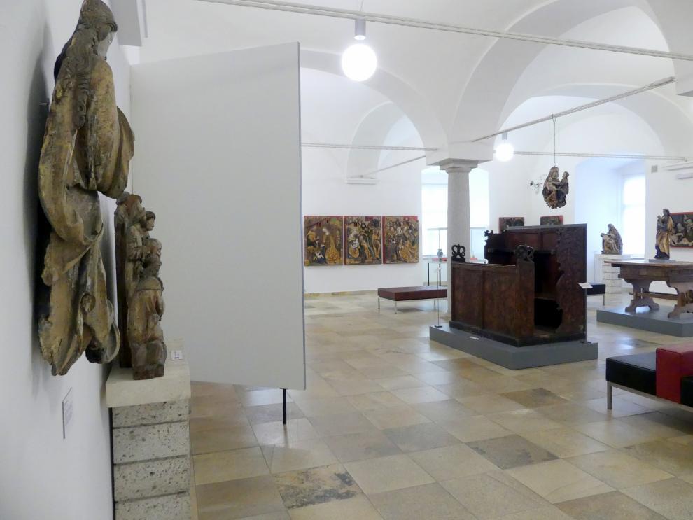 Linz, Oberösterreichisches Landesmuseum, Die Zeit der Schnitzaltäre, Bild 2/4
