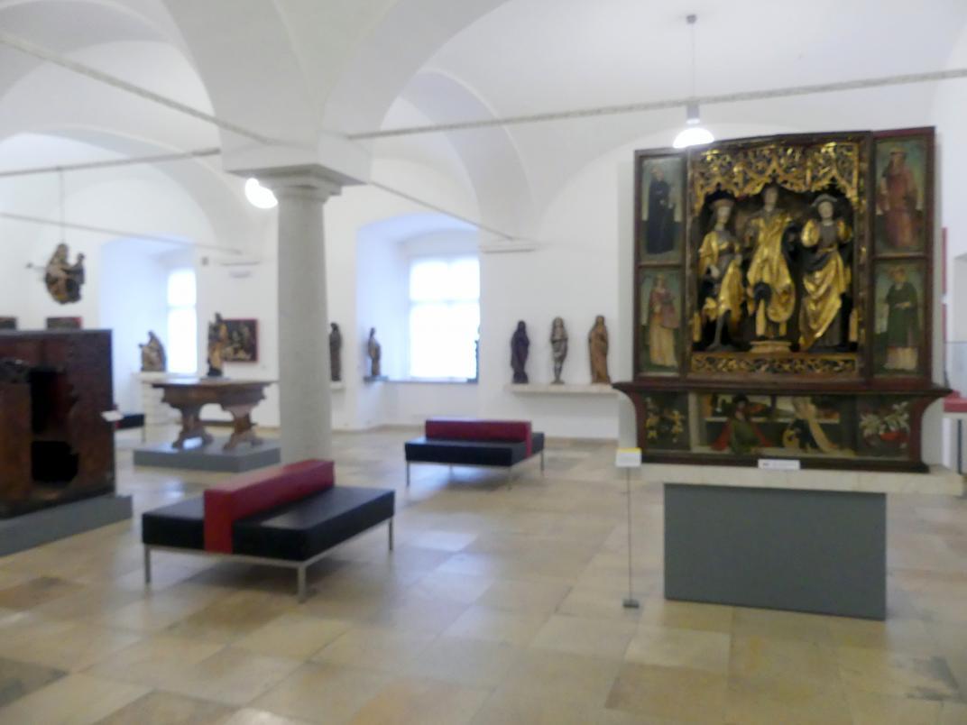 Linz, Oberösterreichisches Landesmuseum, Die Zeit der Schnitzaltäre, Bild 3/4