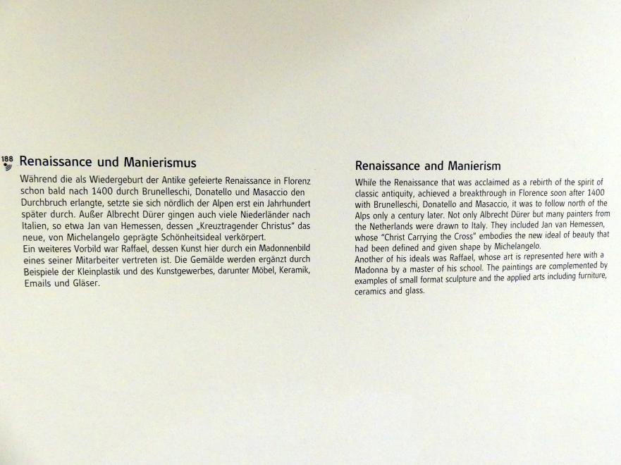 Linz, Oberösterreichisches Landesmuseum, Renaissance und Manierismus, Bild 5/5