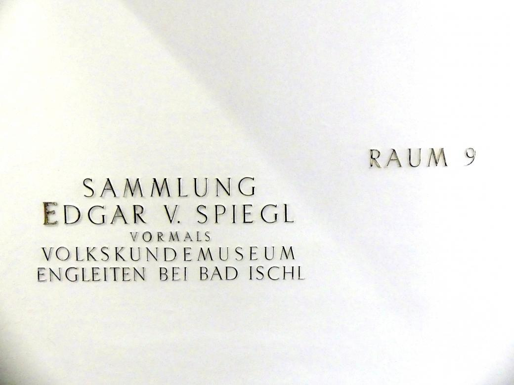 Linz, Oberösterreichisches Landesmuseum, Sammlung Edgar von Spiegl, Bild 4/4