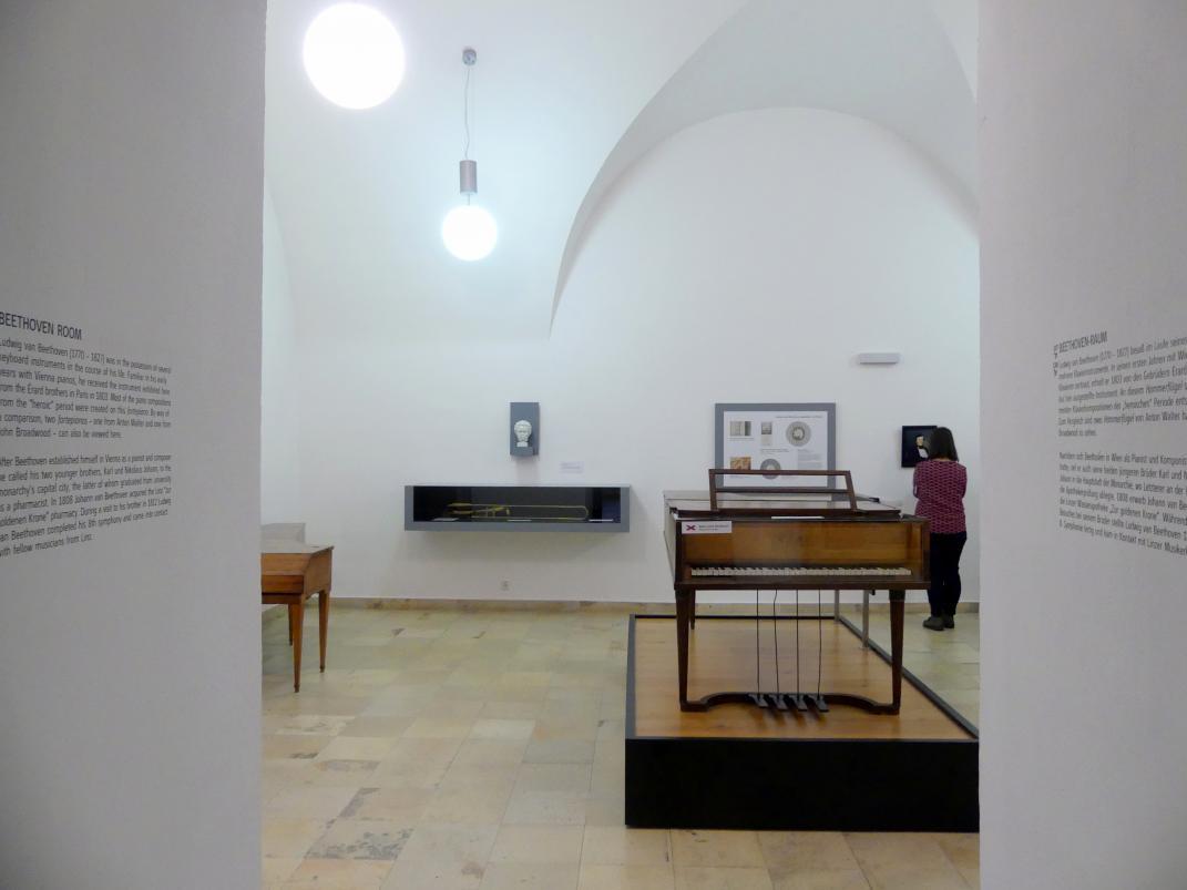 Linz, Oberösterreichisches Landesmuseum, Beethoven-Raum, Bild 3/5