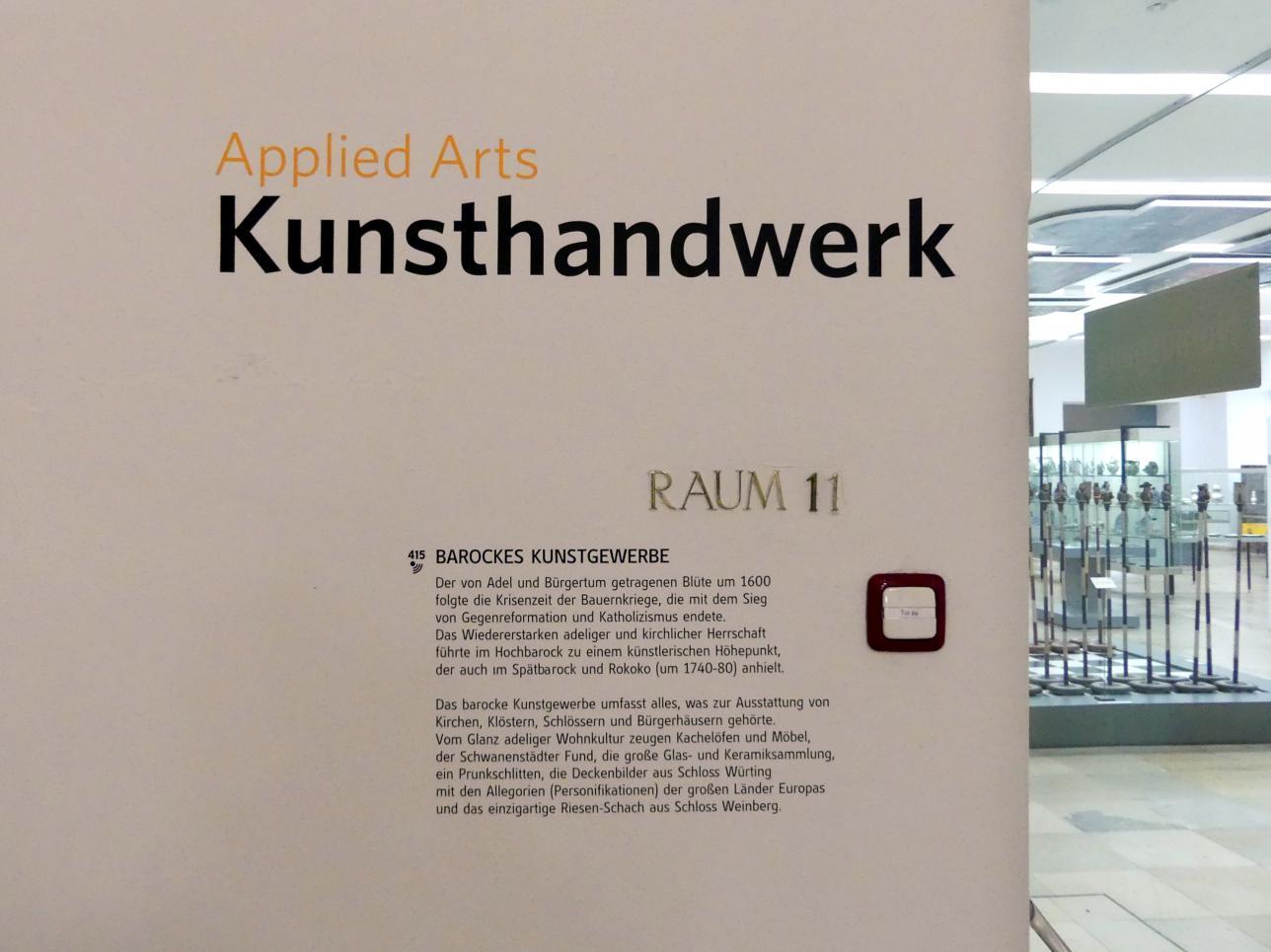 Linz, Oberösterreichisches Landesmuseum, Barockes Kunstgewerbe, Bild 4/4