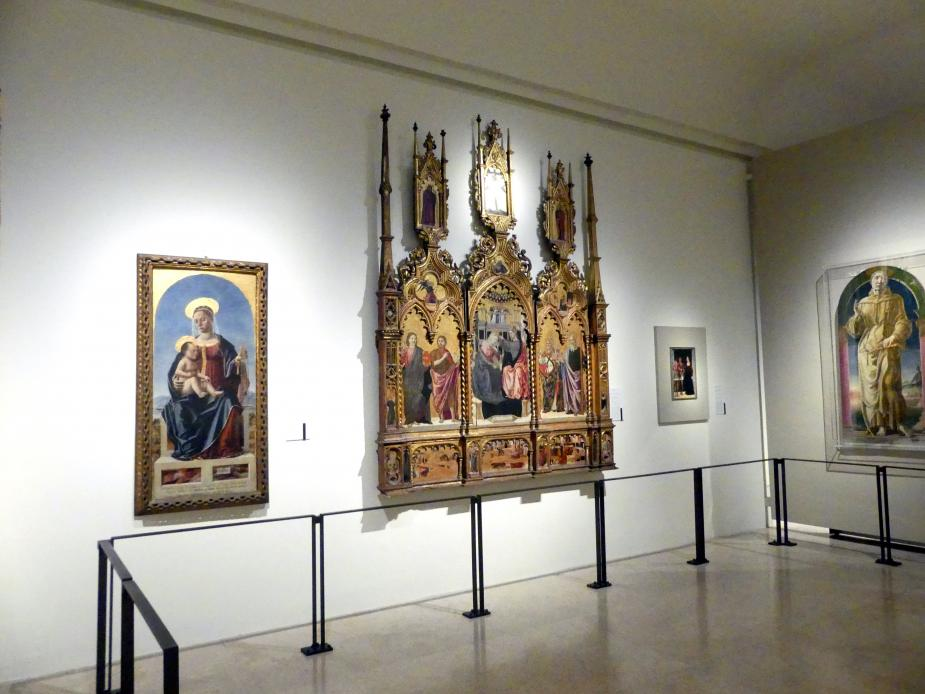 Modena, Galleria Estense, Saal 3, Bild 1/2