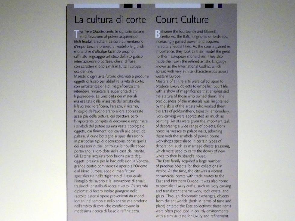 Modena, Galleria Estense, Saal 4, Bild 3/3