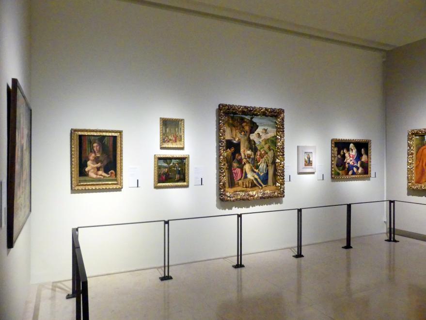 Modena, Galleria Estense, Saal 8, Bild 1/2