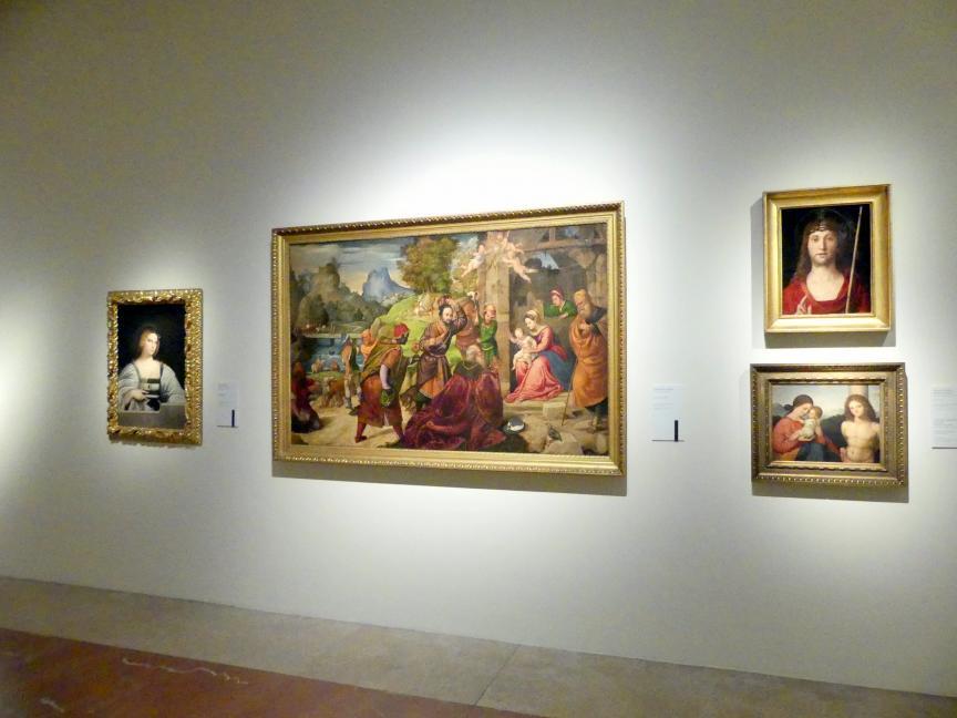 Modena, Galleria Estense, Saal 8, Bild 2/2