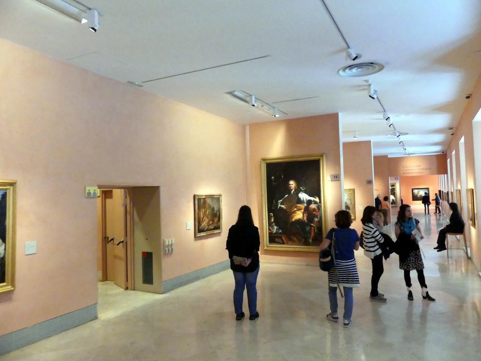 Madrid, Museo Thyssen-Bornemisza, Saal 15, italienische, französische und spanische Malerei des 17. Jahrhunderts, Bild 1/2