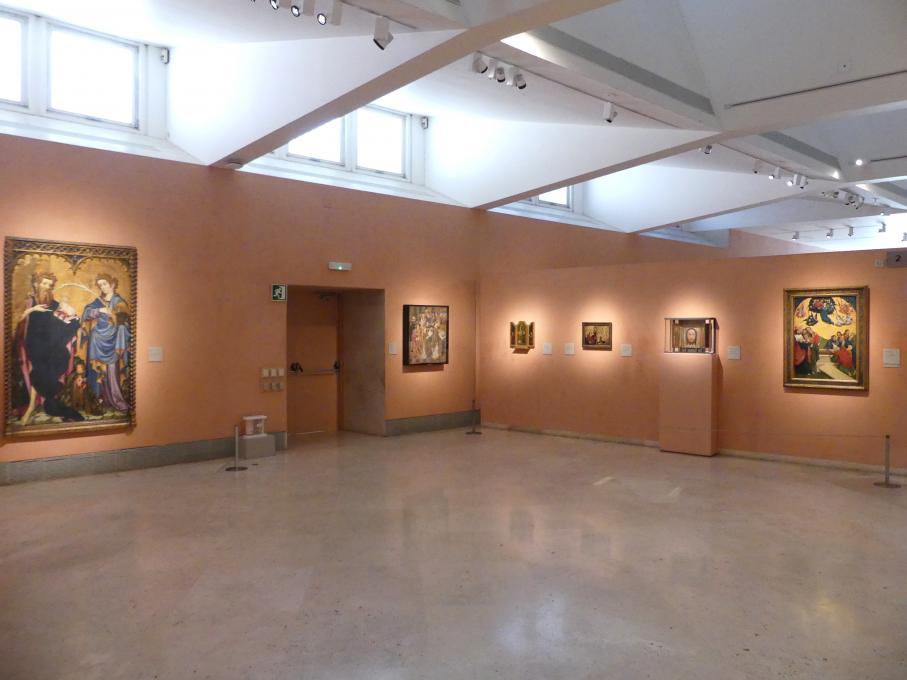 Madrid, Museo Thyssen-Bornemisza, Saal 2, spanische und deutsche Malerei des 15. Jahrhunderts