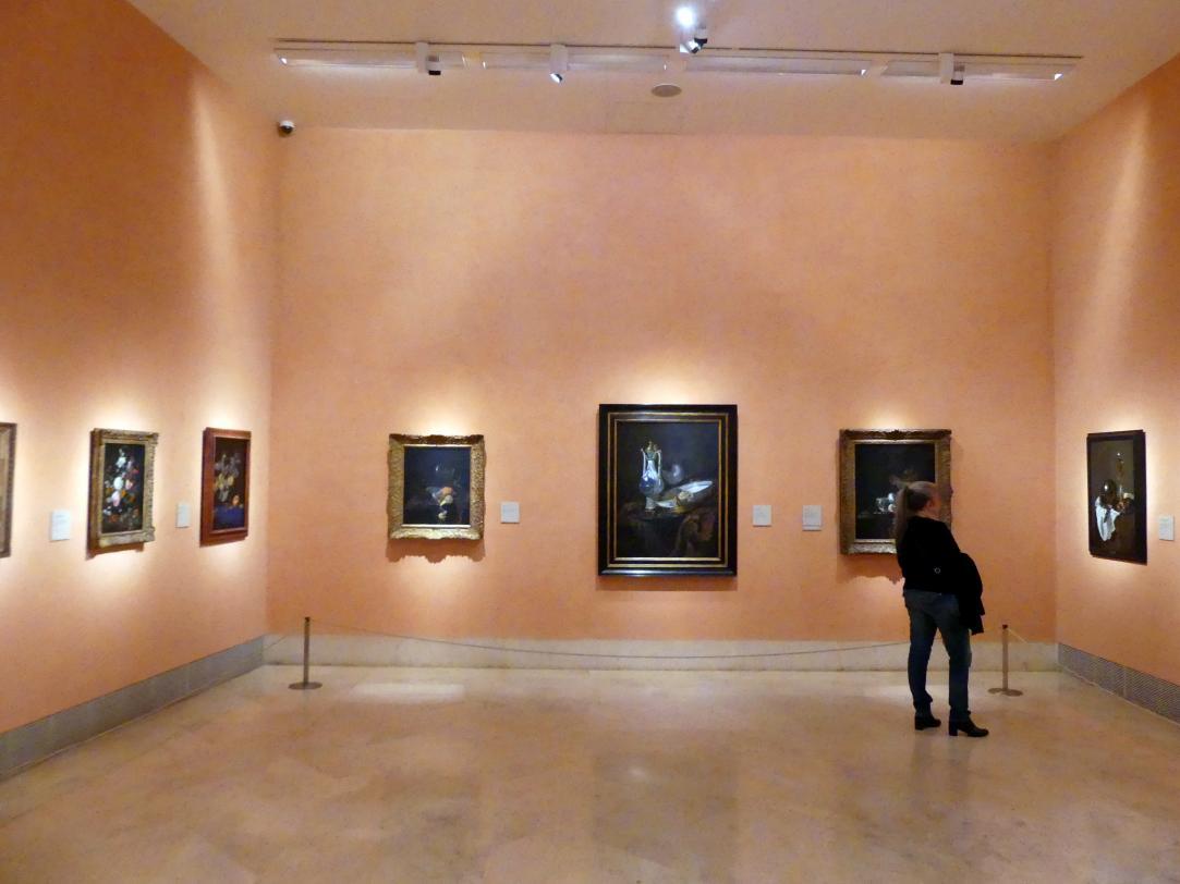 Madrid, Museo Thyssen-Bornemisza, Saal 27, Stillleben des 17. Jahrhunderts, Bild 1/2