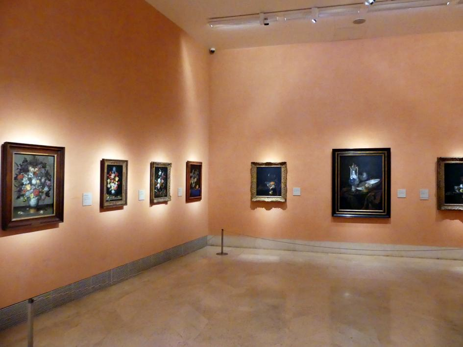 Madrid, Museo Thyssen-Bornemisza, Saal 27, Stillleben des 17. Jahrhunderts, Bild 2/2