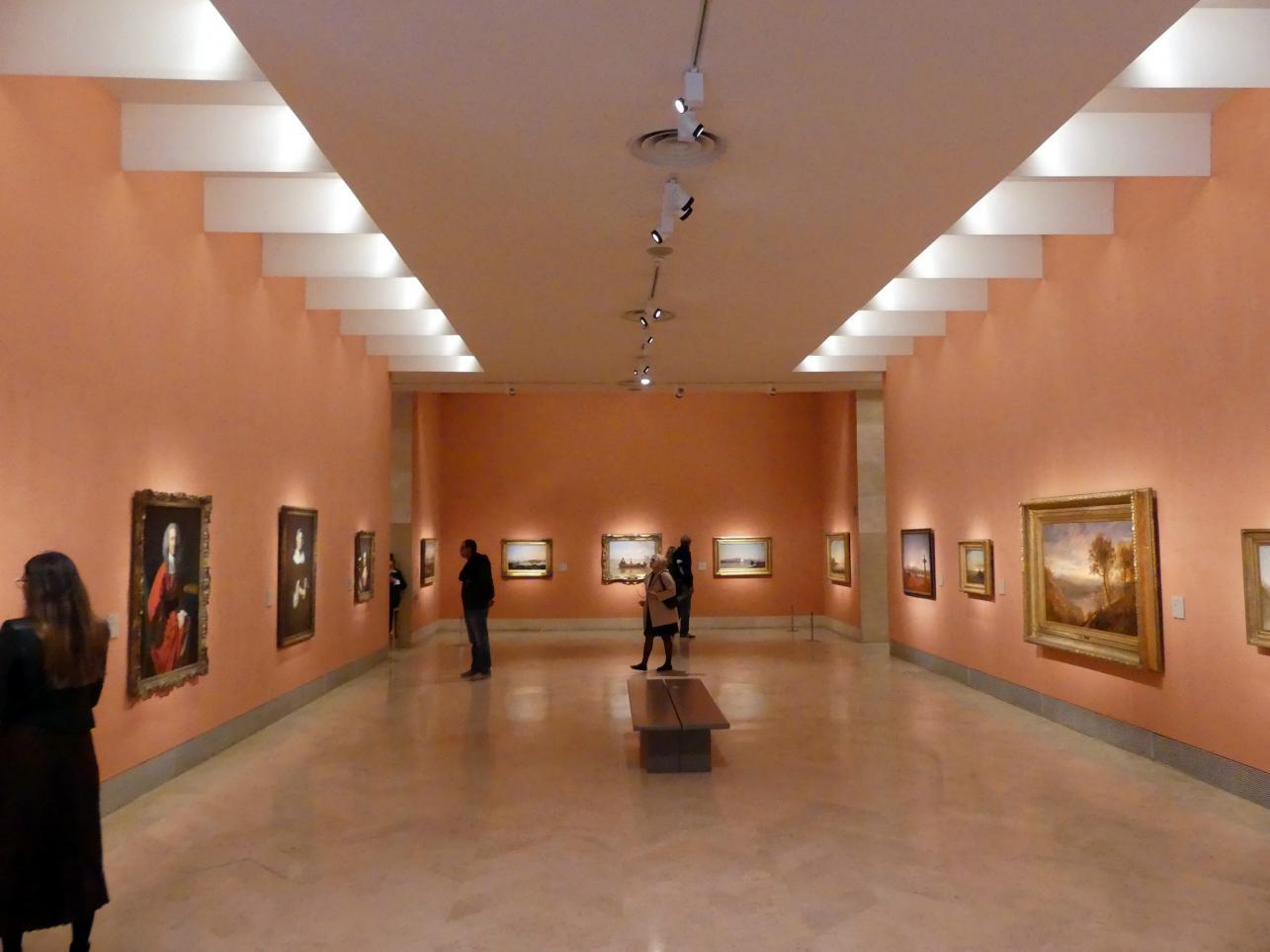 Madrid, Museo Thyssen-Bornemisza, Saal 29, nordamerikanische Malerei des 19. Jahrhunderts