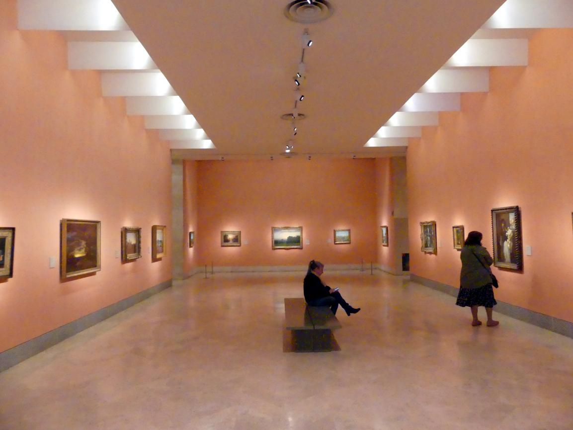 Madrid, Museo Thyssen-Bornemisza, Saal 30, nordamerikanische Malerei des 19. Jahrhunderts