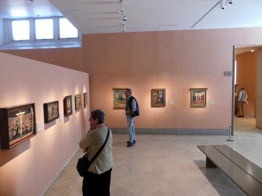 Madrid, Museo Thyssen-Bornemisza, Saal 4, italienische Malerei des 15. Jahrhunderts, Bild 1/2