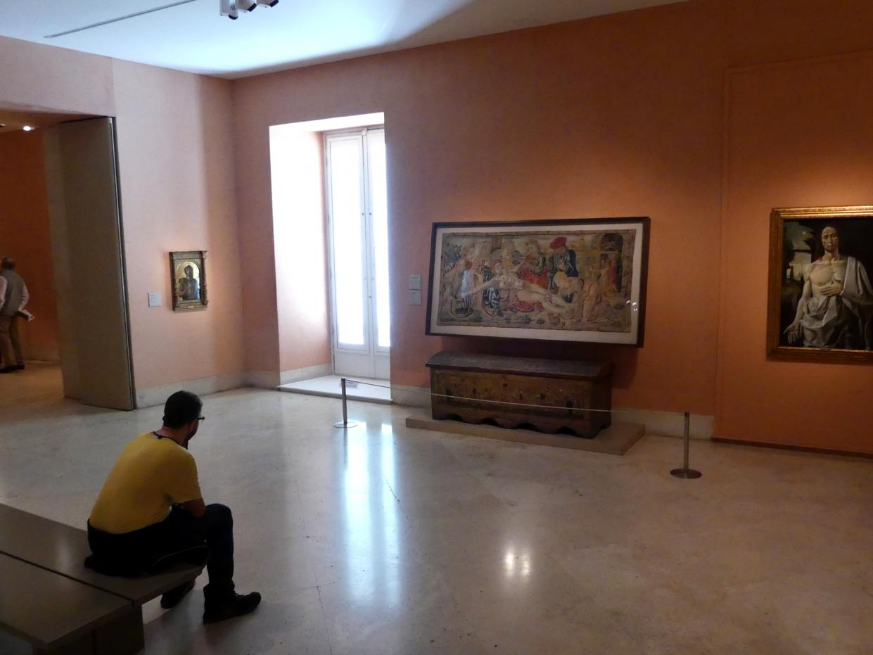 Madrid, Museo Thyssen-Bornemisza, Saal 4, italienische Malerei des 15. Jahrhunderts, Bild 2/2