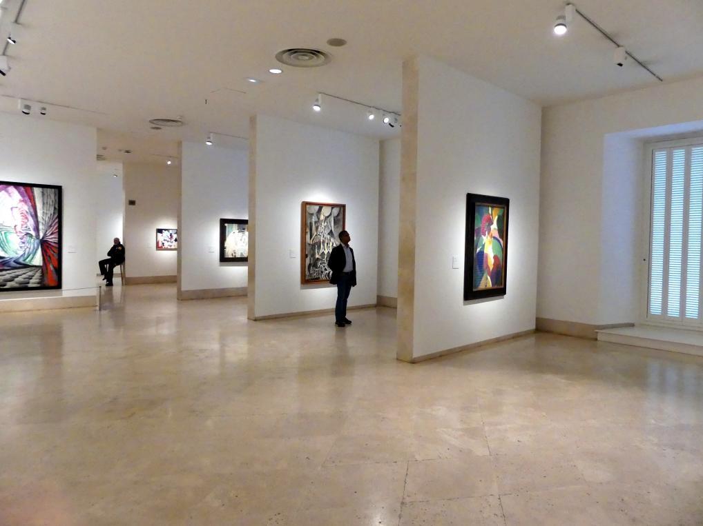 Madrid, Museo Thyssen-Bornemisza, Saal 41, europäische Malerei der ersten Hälfte des 20. Jahrhunderts