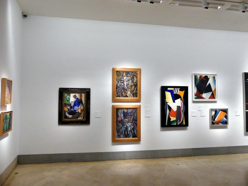 Madrid, Museo Thyssen-Bornemisza, Saal 43, Pioniere der Abstraktion, Bild 1/3