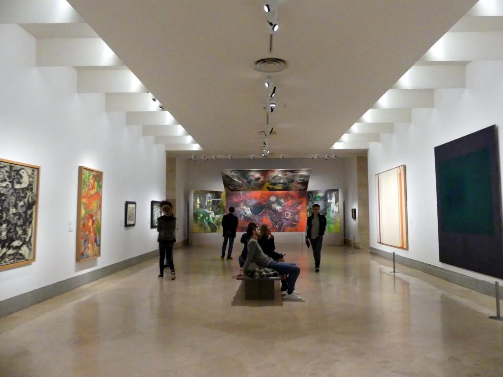 Madrid, Museo Thyssen-Bornemisza, Saal 46, nordamerikanische Malerei des 20. Jahrhunderts