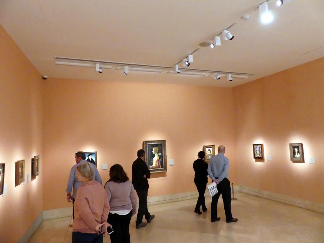 Madrid, Museo Thyssen-Bornemisza, Saal 5, das Porträt in der Renaissance