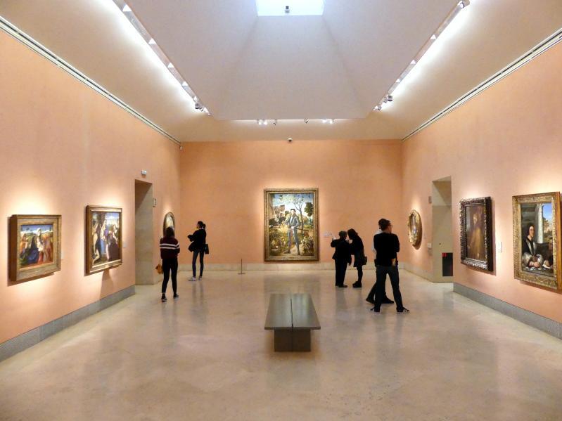 Madrid, Museo Thyssen-Bornemisza, Saal 7, italienische Malerei des 16. Jahrhunderts