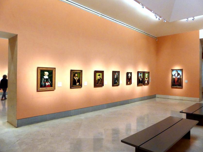 Madrid, Museo Thyssen-Bornemisza, Saal 9, deutsche Malerei des 15. und 16. Jahrhunderts, Bild 2/3