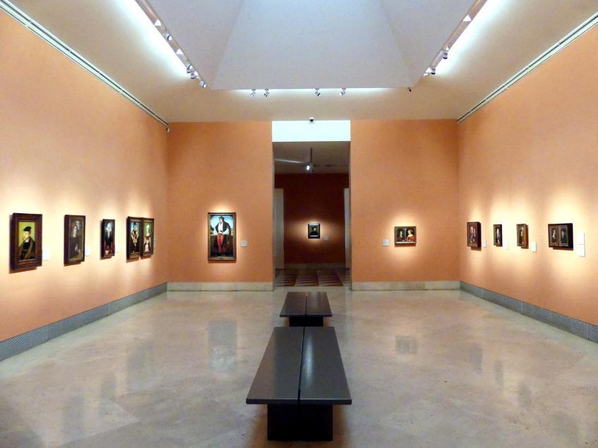 Madrid, Museo Thyssen-Bornemisza, Saal 9, deutsche Malerei des 15. und 16. Jahrhunderts, Bild 3/3