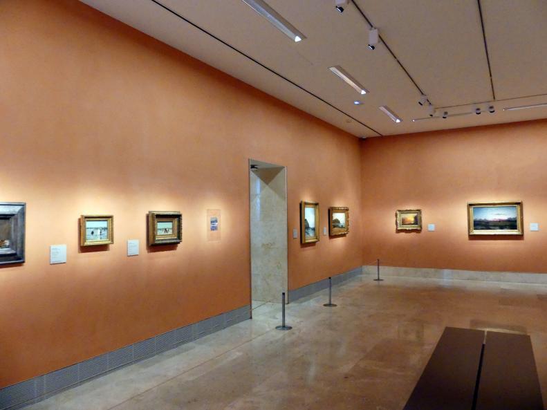 Madrid, Museo Thyssen-Bornemisza, Saal F, nordamerikanische Malerei des 19. Jahrhunderts