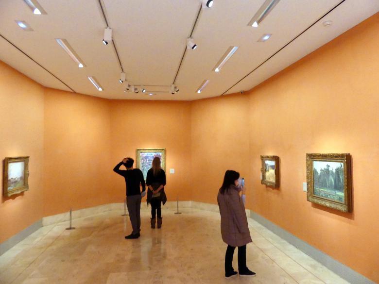 Madrid, Museo Thyssen-Bornemisza, Saal H, europäische Malerei des 19.Jahrhunderts