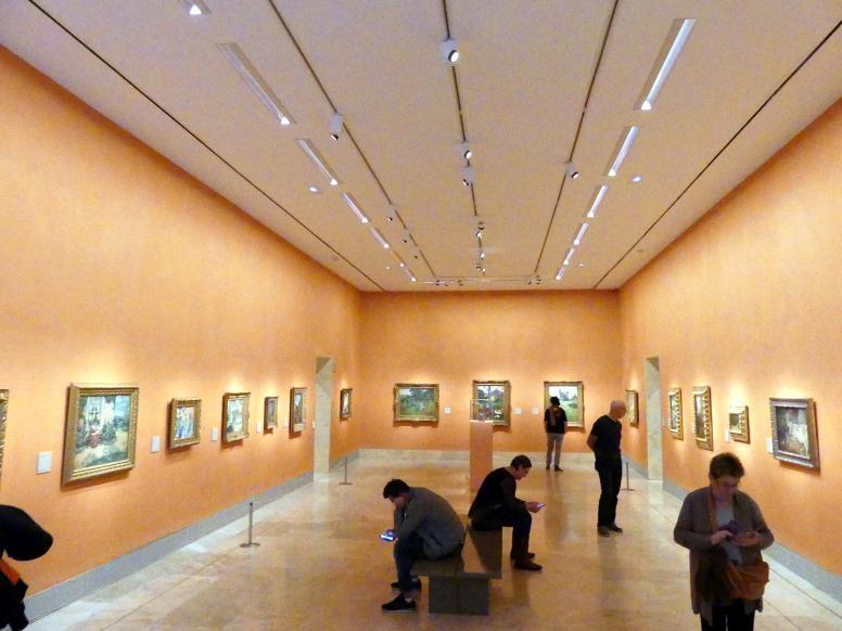 Madrid, Museo Thyssen-Bornemisza, Saal L, europäische Malerei des 19.Jahrhunderts