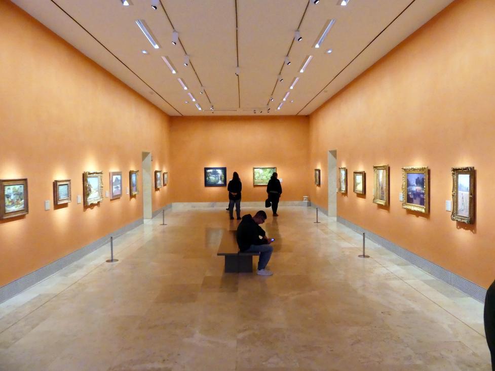 Madrid, Museo Thyssen-Bornemisza, Saal M, europäische Malerei des 19.Jahrhunderts