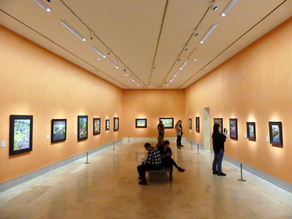 Madrid, Museo Thyssen-Bornemisza, Saal N, europäische Malerei der ersten Hälfte des 20. Jahrhundert