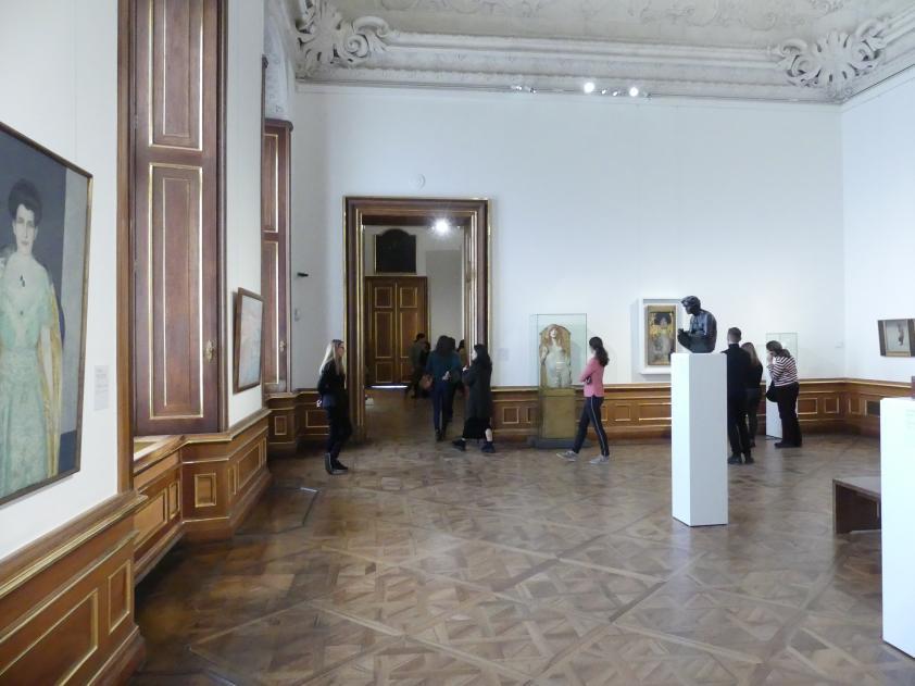 Wien, Museum Oberes Belvedere, Saal 1, Bild 1/3