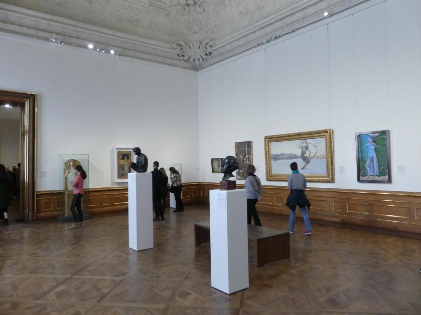 Wien, Museum Oberes Belvedere, Saal 1, Bild 2/3
