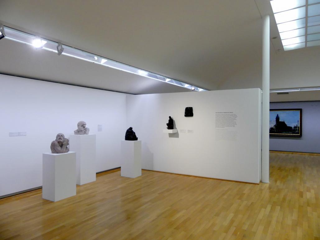 Regensburg, Ostdeutsche Galerie, Saal 1, Bild 1/2