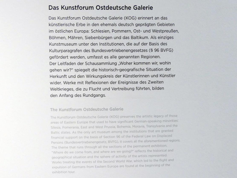 Regensburg, Ostdeutsche Galerie, Saal 1, Bild 2/2