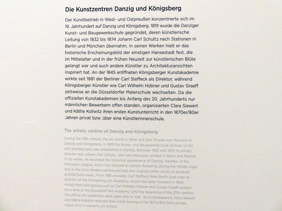 Regensburg, Ostdeutsche Galerie, Saal 3