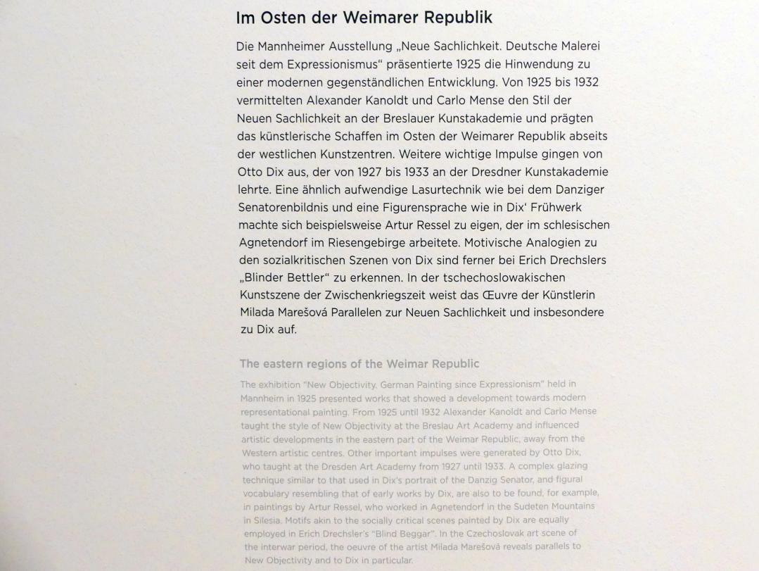 Regensburg, Ostdeutsche Galerie, Saal 9, Bild 2/2