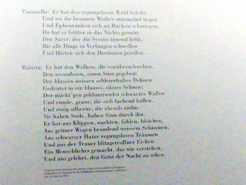 München, Sammlung Schack, Obergeschoss Saal 13